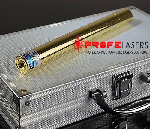 pointeur laser bleu